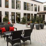 Agnew courtyard
